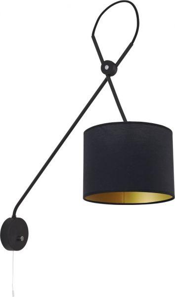 Lampy oświetlenie Nowodvorski - VIPER black kinkiet 6513